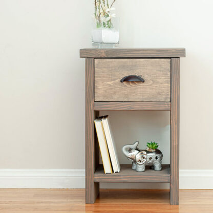 nightstand with hidden storage