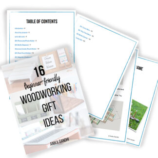 woodworking gift ideas book cover